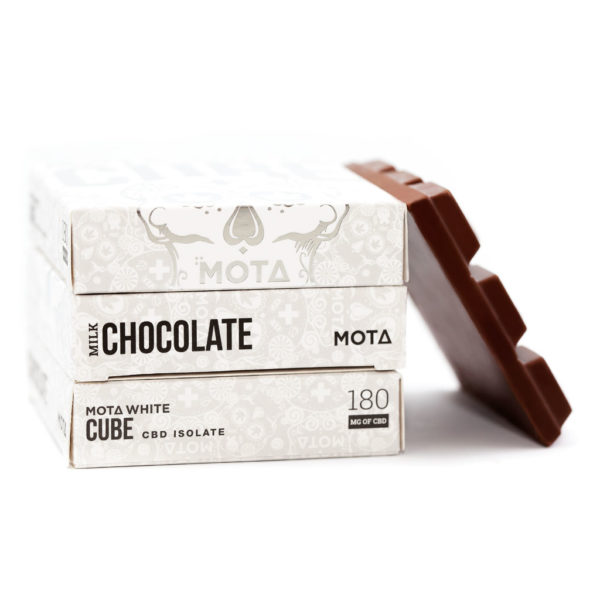 mota white cube cbd chocolate