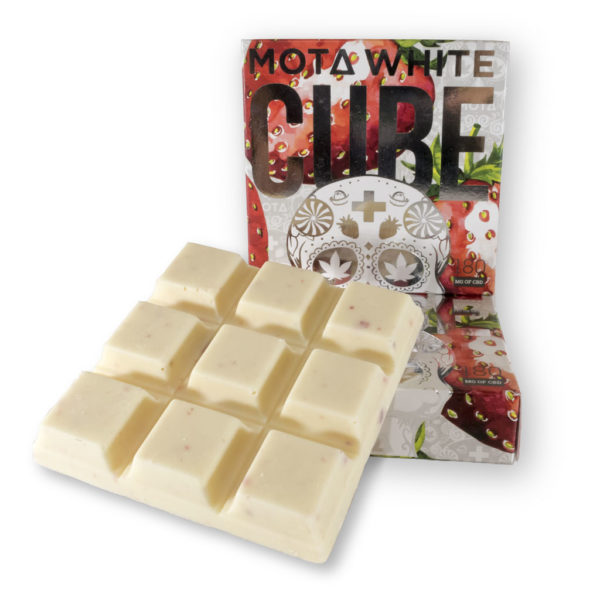 mota cbd white cube chocolate